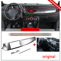 2 DIN Frame Car CD Stereo Fascia For Alfa Romeo Giulietta 940 2010 2014 Left Hand drive Stereo Installation Trim Panel Frame Kit