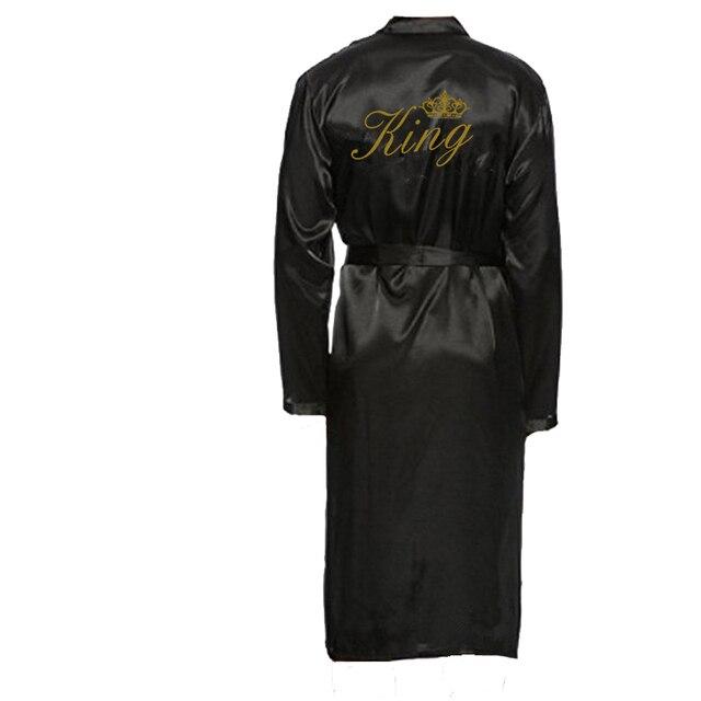 C & Fung new arrival król i królowa szlafrok kąpielowy para kimono piżamy pan pani szaty miesiąc miodowy prezent ślubny dla panny młodej pan młody