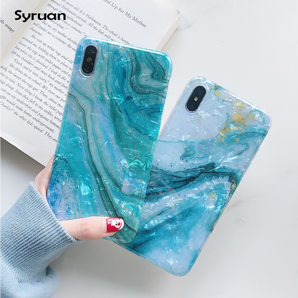 <font><b>Glitter</b></font> Marble <font><b>Case</b></font> For <font><b>iphone</b></font> 7 <font><b>XR</b></font> XS MAX <font><b>Case</b></font> Soft TPU Back Cover For <font><b>iphone</b></font> 6 6S 7 8 Plus <font><b>iphone</b></font> X <font><b>XR</b></font> <font><b>Case</b></font> Cover <font><b>Phone</b></font> <font><b>Case</b></font> image