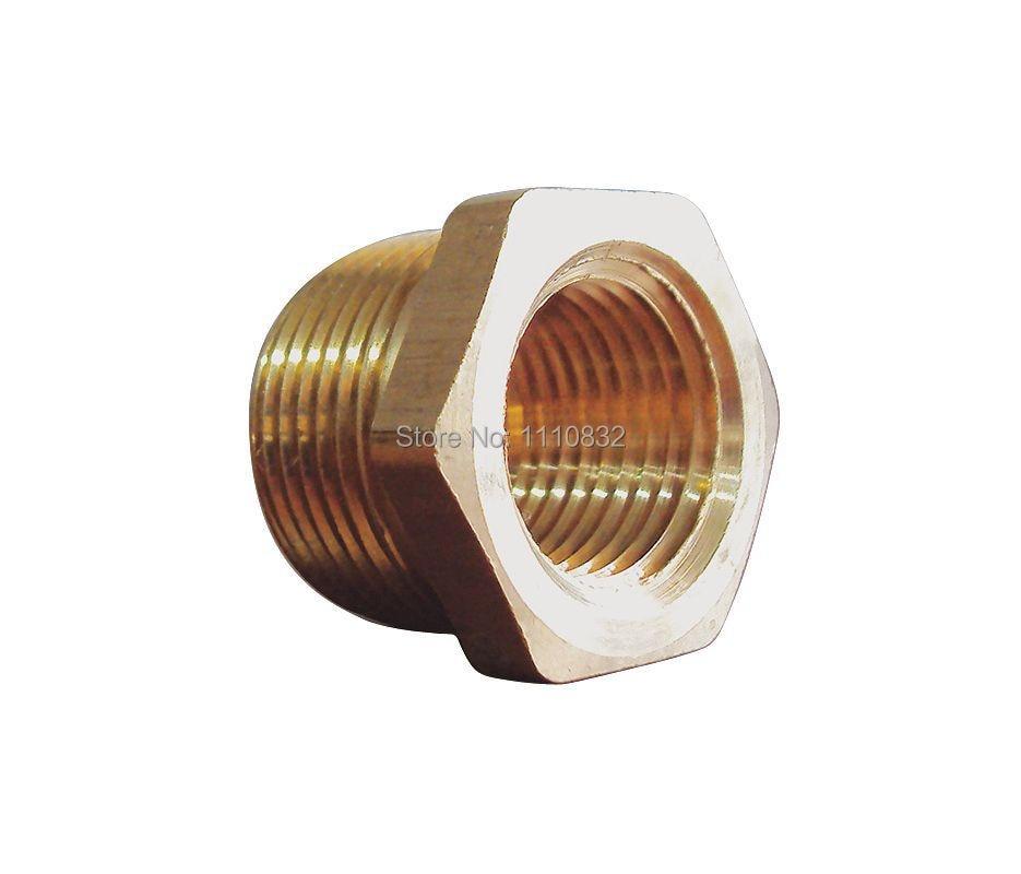 Pipe reducing bushing brass in pk mnpt