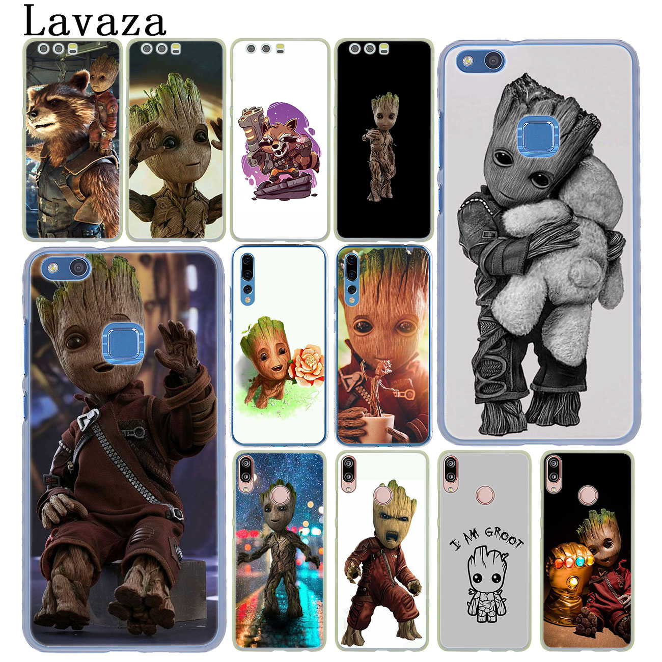 Lavaza Guardians of the for Galaxy <font><b>Marvel</b></font> <font><b>Case</b></font> for <font><b>Huawei</b></font> Y9 <font><b>Y7</b></font> Y6 Prime <font><b>2019</b></font> 2018 Honor 20 10 8C 8X 8 9X 9 Lite 7C 7X 7A Pro image