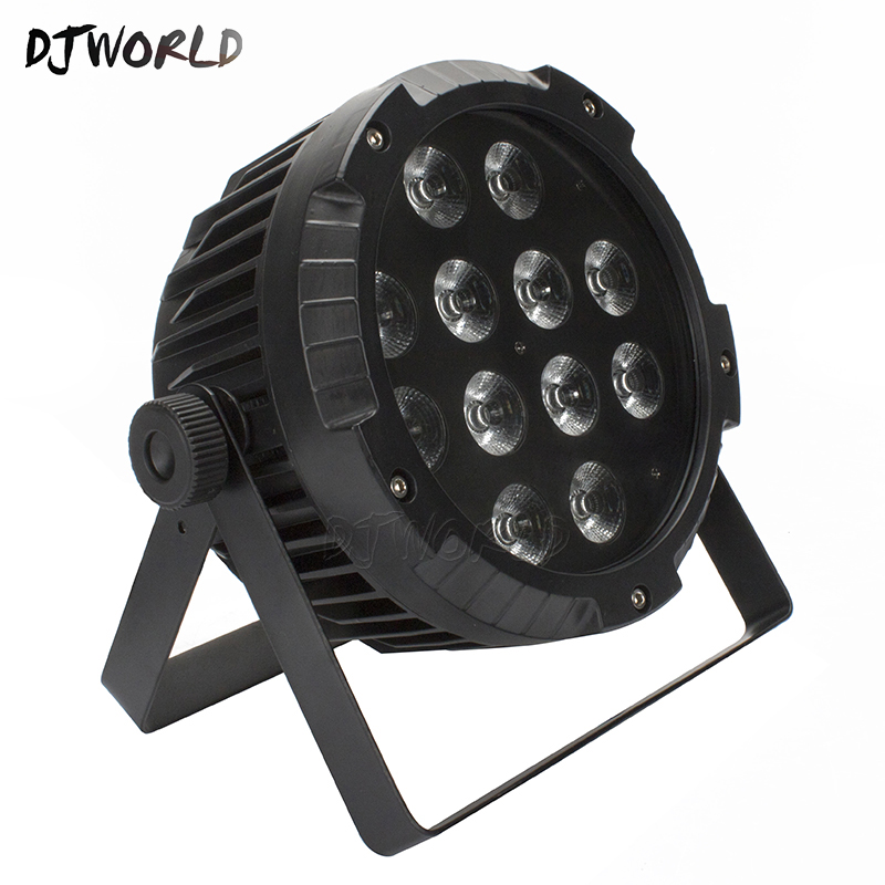 High Quality Waterproof LED Flat Par 12x12W RGBW DMX512 Stage Effect Lighting For Outdoor Swimming Pool DJ Disco Party ClubsHigh Quality Waterproof LED Flat Par 12x12W RGBW DMX512 Stage Effect Lighting For Outdoor Swimming Pool DJ Disco Party Clubs