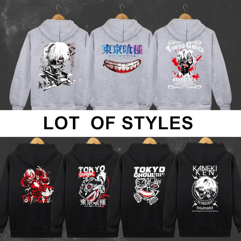 lot of styles anime MEN WOMEN Tokyo Ghoul cosplay hoodie Tokyo Ghoul jacket clothes sweater carnaval cosplay clothes