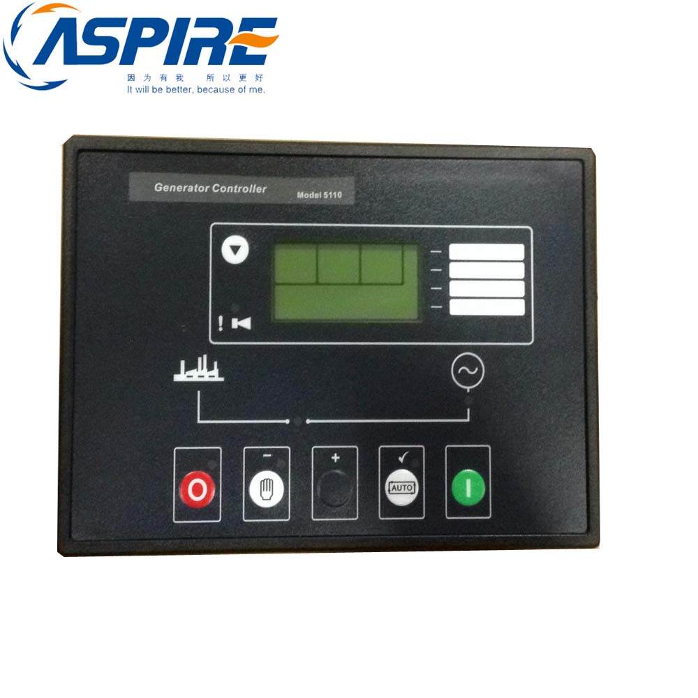 New Free Shipping+5110 Generator Control Genset Automatic Start Up Module with Engine Speed free shipping deep sea generator set controller module p5110 generator control panel replace dse5110
