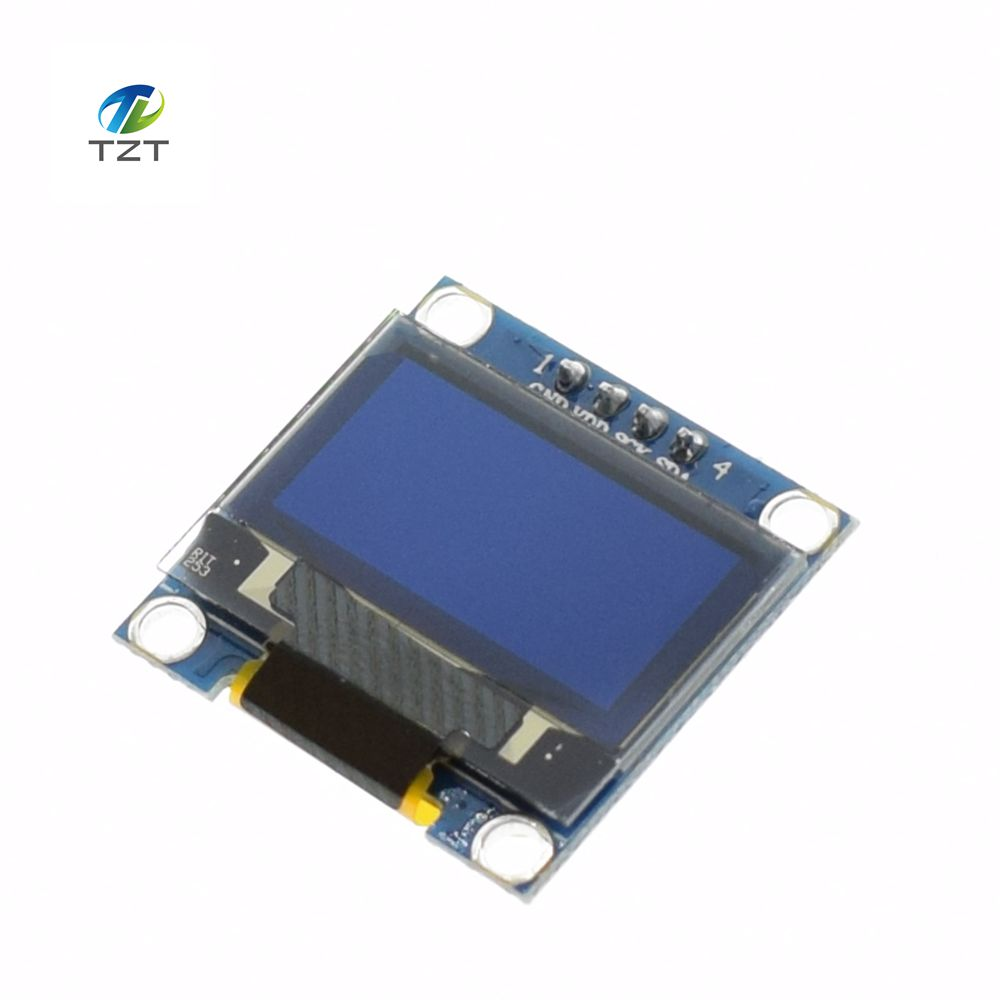 Image 2 - 10pcs White Blue color 0.96 inch 128X64 OLED Display Module Yellow Blue OLED Display Module For Arduino 0.96 IIC SPI Communicateoled display moduledisplay module128x64 oled -