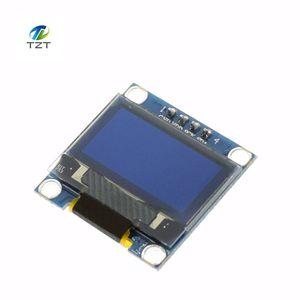 Image 2 - Módulo de pantalla OLED de 0,96 pulgadas 128X64, color blanco y azul, módulo de pantalla OLED para Arduino 0,96 IIC comunicación SPI 10 Uds.