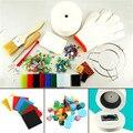 15 piezas artesanía costura DIY herramientas de joyería suministros de horno de microondas de fusión de vidrio hornos para cerámica, accesorios