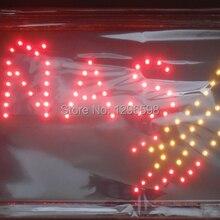 CHENXI Прямые Продажи Пользовательские графика Крытый ультра яркий мигающий 10X19 дюймов Уход за ногтями магазин Неоновый открытый знак led