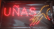 CHENXI Direct Selling custom Graphics indoor Ultra Bright flashing 10X19 inch nails care store neon open sign of led-