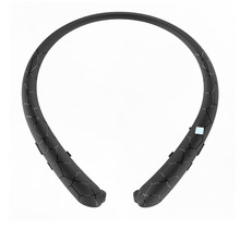Bluetooth Headset Retractable Earbuds Neckband with Mic For iPhone & Xiaomi