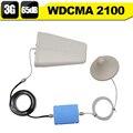 3 Г-3 Г WCDMA 2100 мГц Мобильный Усилитель Сигнала 3 дб Г UMTS 2100 Сотовый Телефон Усилитель 3 Г HSPA Сотовой Повторитель + Антенна набор