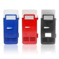 Mini Fridge Cooler Freezer Mini Drink Cool Fridge ABS 194x90x90mm Energy Saving Eco-Friendly 5V 10W