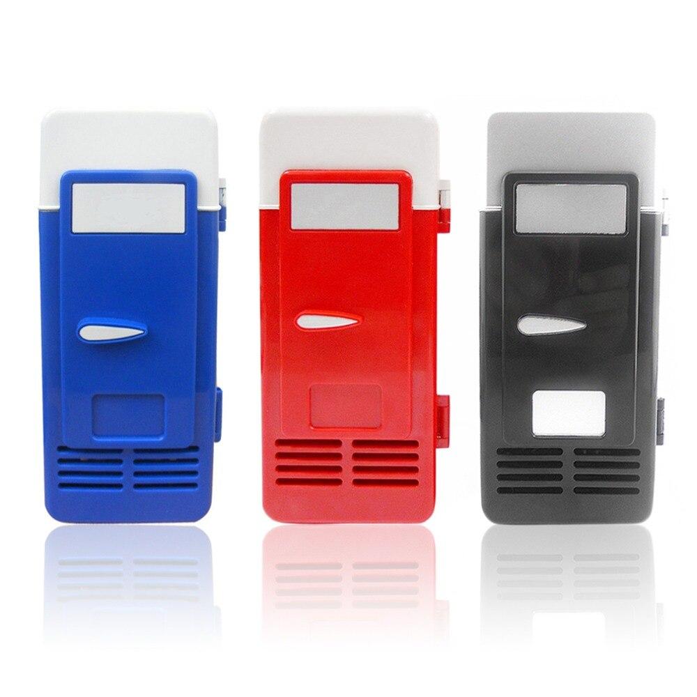 Fridge Cooler Freezer Drink Cool Fridge ABS 194x90x90mm Energy Saving Eco-Friendly 5V 10W