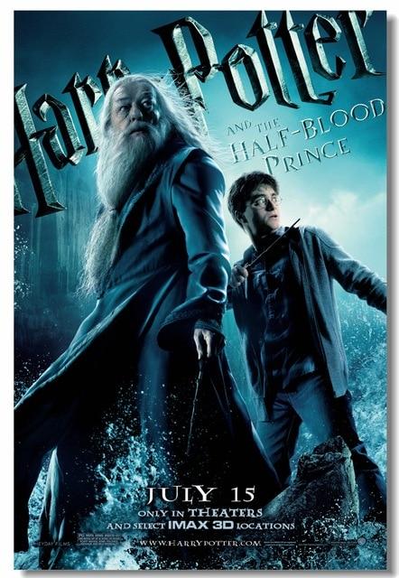 Custom Canvas Wall Decoration Albus Dumbledore Poster Harry Potter