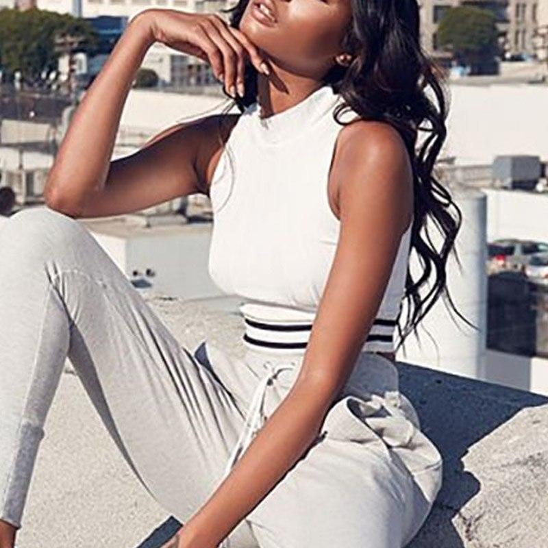 knitwear tank top sleeveless crop top turtleneck women vest strip camis (3)