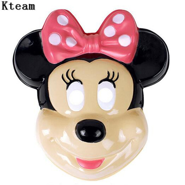 New Christmas Party Cosplay Mickey Mouse Mask For Halloween Movie Lovely Face Mask Dance Ball Party