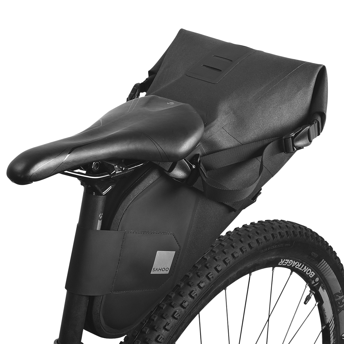 Sport Bike Saddle Bag Mountain Bicycle Cycling Tail Rear Pouch Seat Storage Pack