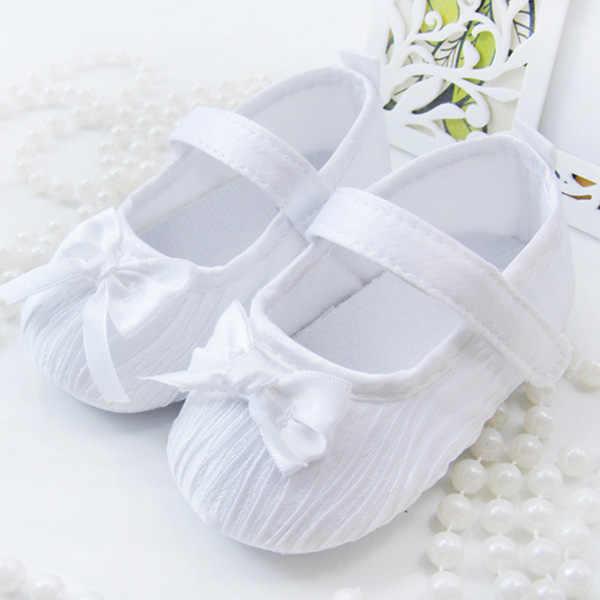6-24M verano recién nacido bebé niñas primeros Walkers Zapatos Niño niño suave Prewalker antideslizante zapatos zapatos de princesa de boda nuevos