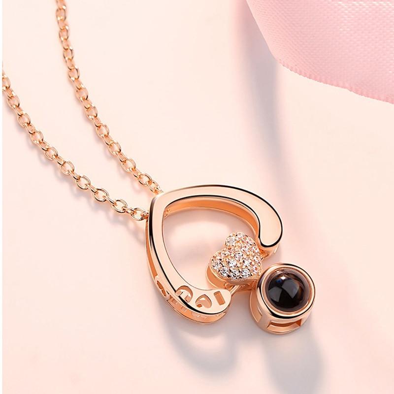 Double-Heart-Shape-Romantic-100-languages-I-love-you-Projection-Pendant-Necklace-Shiny-Zircon-Love-Memory (4)