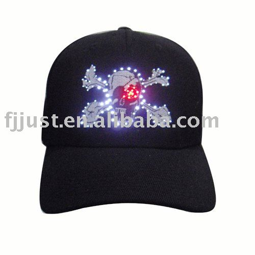 ef494303e680c Special Flashing custom embroidered caps promotional caps ball cap ...