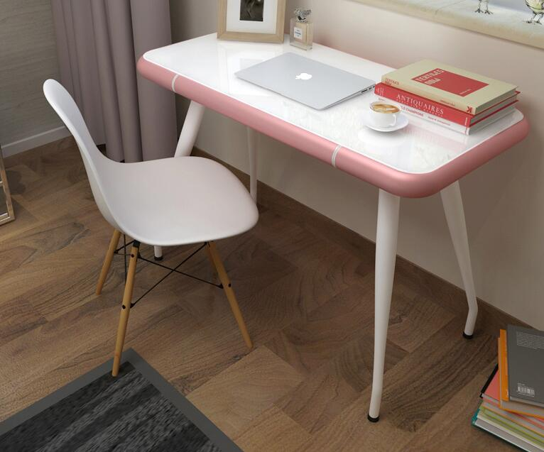 Modern simple tempered glass tea table... Small family tea table.. modern tempered glass tea table small room creative tea table in the living room