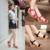 Mulheres Sandálias Rosa 2017 Novas Cunhas Verão Dedo Aberto Moda plataforma De Salto Alto Sandálias de Cunha Sapatos Femininos Calçados Femininos Extra tamanho