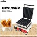 XEOLEO Fritters оборудование для Чуррос печь для выпечки Твист Машина Коммерческая антипригарная электрическая 7-grid fritters Хрустящая Жареная Машина