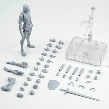 Z pudełkiem Anime Archetype on ona ferrytowe Figma ruchome ciało Feminino Kun ciała Chan pcv Action model figurki lalki kolekcjonerska zabawki