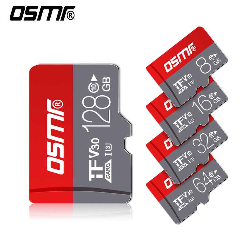 R0W MINI Giá Rẻ TF Thẻ Flash Card 64GB 128 GB Sỉ Thẻ Nhớ MicroSD 32GB cho MP3/ 4/máy bay không người lái thẻ Micro SD C10 16 GB 8 GB