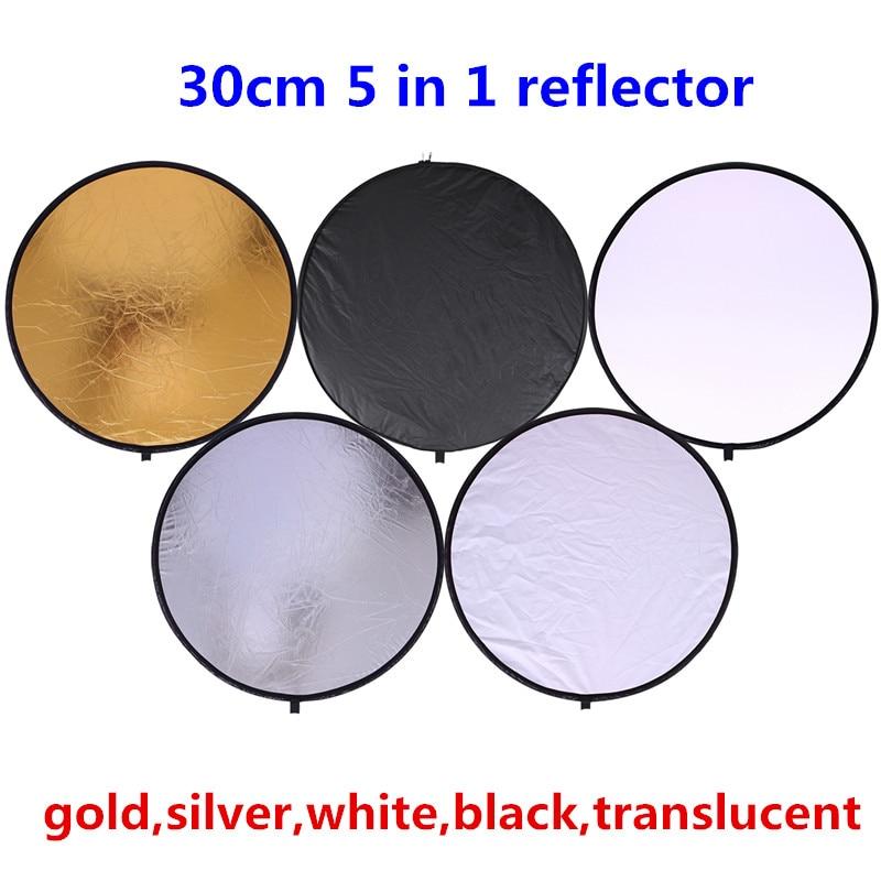 CY 30cm 11.8 '' 5 në 1 profesion Reflektues fotografik i - Kamera dhe foto - Foto 2