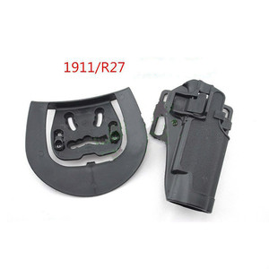 Image 5 - Tactical Airsoft CQC Holster Pistol Gun Holster For G17/1911/M9/P226/USP Belt Loop Waist Paddle outdoor Hunting