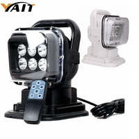 Yait 30W High Power Led Searchlight Remote Control Led Spot Work Working Light Bar 12V 24V