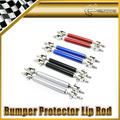 New Car Styling Universal Fitting Front Rear Bumper Protector Lip Rod Splitter Strut Tie Bars Support Kit 1pair