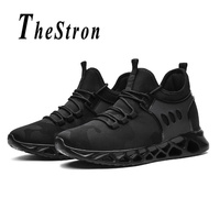 Man Trail Running Shoes White Red Walking Male Sneakers Spring Autumn Mens Fitness Sneakers Breathable Gym Shoes For Men