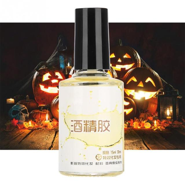 15ml Special Effect Glue Scar Glue Halloween Makeup Glue Face Paint Make Up For Halloween