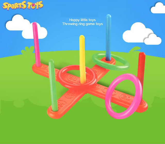 Outdoor Throwing Game for Children