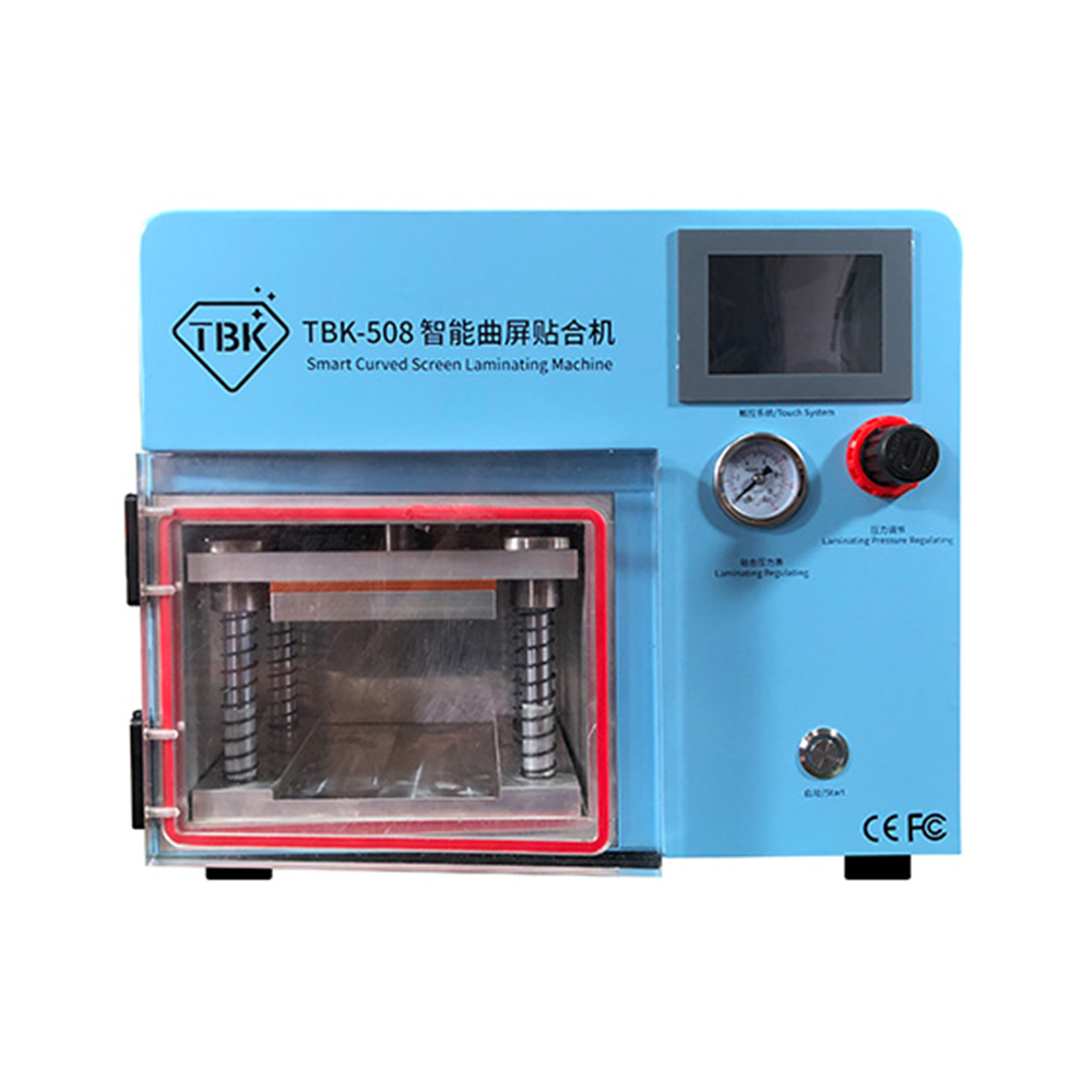 TBK-508 5 in 1 Smart Curved LCD ScreenVacuum Laminating Machine for Sumsung S6 S6+ S7 S8 S8+ Edge LCD OCA Repair bubble remover
