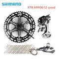 Shimano XTR M9100 12 Velocità della bici della bicicletta mtb groupset kit