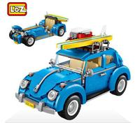 Mini Blocks Technic Mini City Car 2 In 1 Model Building Bricks Vehicle Racing Car Assembly Toys Compatible with Legoings