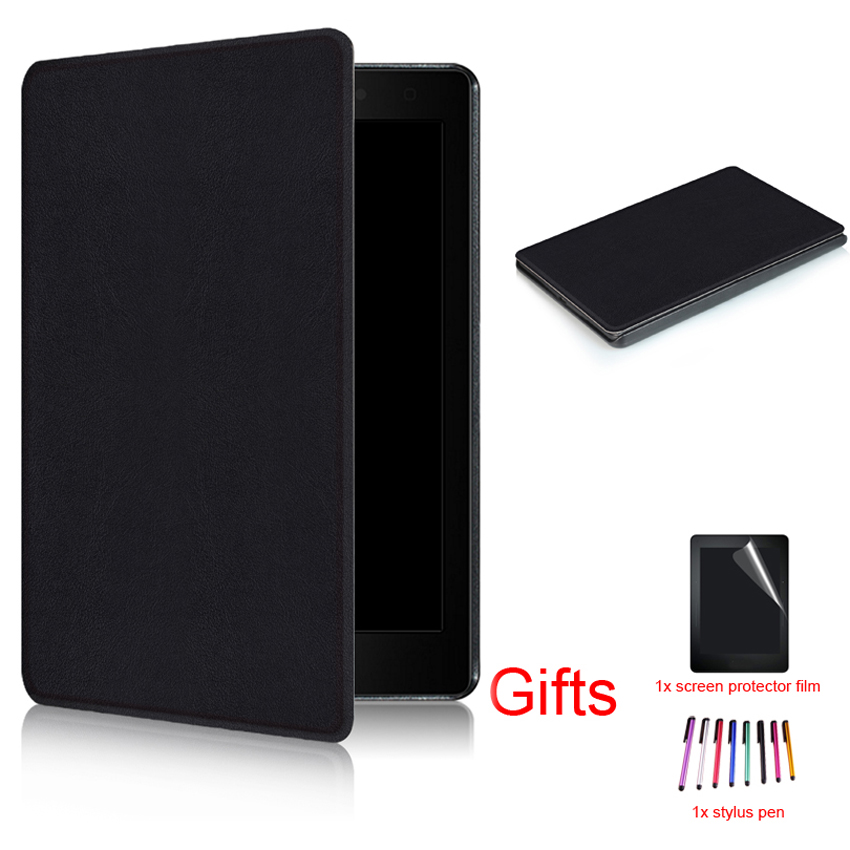Ultra Slim Magnet Smart Wake/Sleep PU Leather Protective Stand Cover for Kobo Aura One 7.8