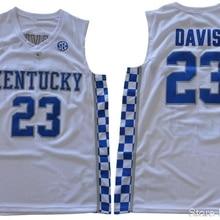 6bfe1ac7d95 Mens Anthony Davis JERSEYS 23 Kentucky Wildcats Anthony Davis BASKETBALL  JERSEYS Sport Shirt All stitched(