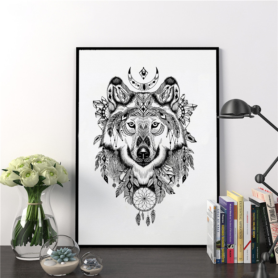 Wolf Wall Art online buy wholesale wolf wall art from china wolf wall art