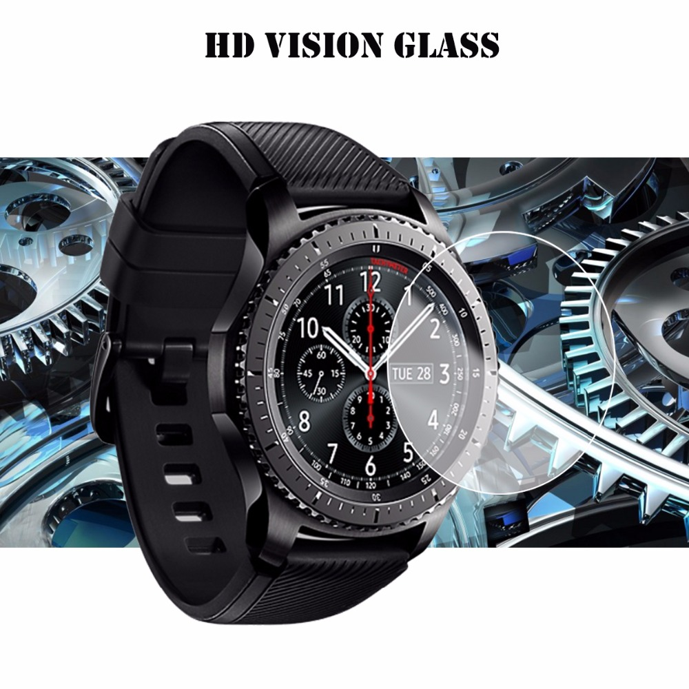 Gear S3 Classic Tempered Glass Ultra Cltra 9H For Samsung Gear S3 Frontier Smartwatch Film Screen Protector LTE 2.5 Anti Scratch