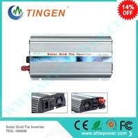 1KW 1000W free shipping Solar panels cell 12V 24V Dc input power inverter to 90 130V 190 260V AC output on Grid Tie inverter