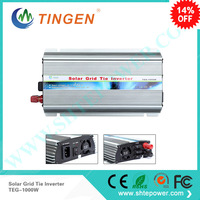 1KW 1000W free shipping Solar panels cell 12V 24V Dc input power inverter to 90 130V 190 260V AC output on Grid Tie inverter