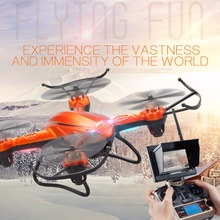 JJRC H32GH 4-rotor Gyro Drone Altitude Position Hold RC Quadcopter with LCD Screen & 2MP HD Camera & Remote Control