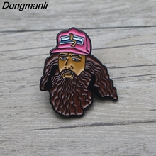 L3383 Forest Gump Metal Enamel Pin for Backpack/Bag/Jeans Clothes Badge Lapel Pin Brooch Jewelry 1pcs