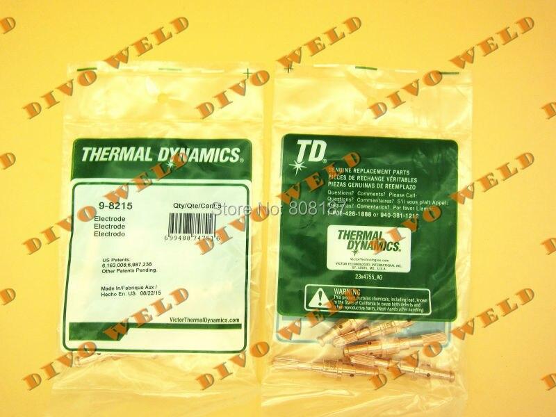 200 pcs 9-8215 électrode pour thermal dynamics SL60 ~ SL100 Livraison gratuite TNT (4 jour vous sera obtenir après payé)