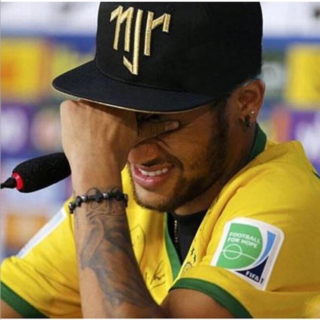 Brazil Neymar Cap Men Hat Trucker Cap Embroidery NJR Women Hat Summer Baseball Cap For European And American Hip-hop