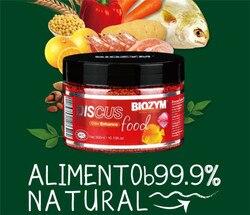 Nuevo alimento para peces ornamentales de acuario discus brillo comida koi peces dorados potenciador de alimentos pellets de color 320 ml